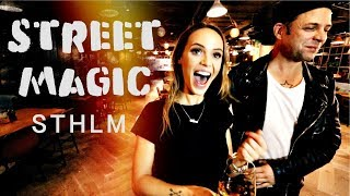 Street Magic 🔥 Down Town Stockholm -Julien Magic