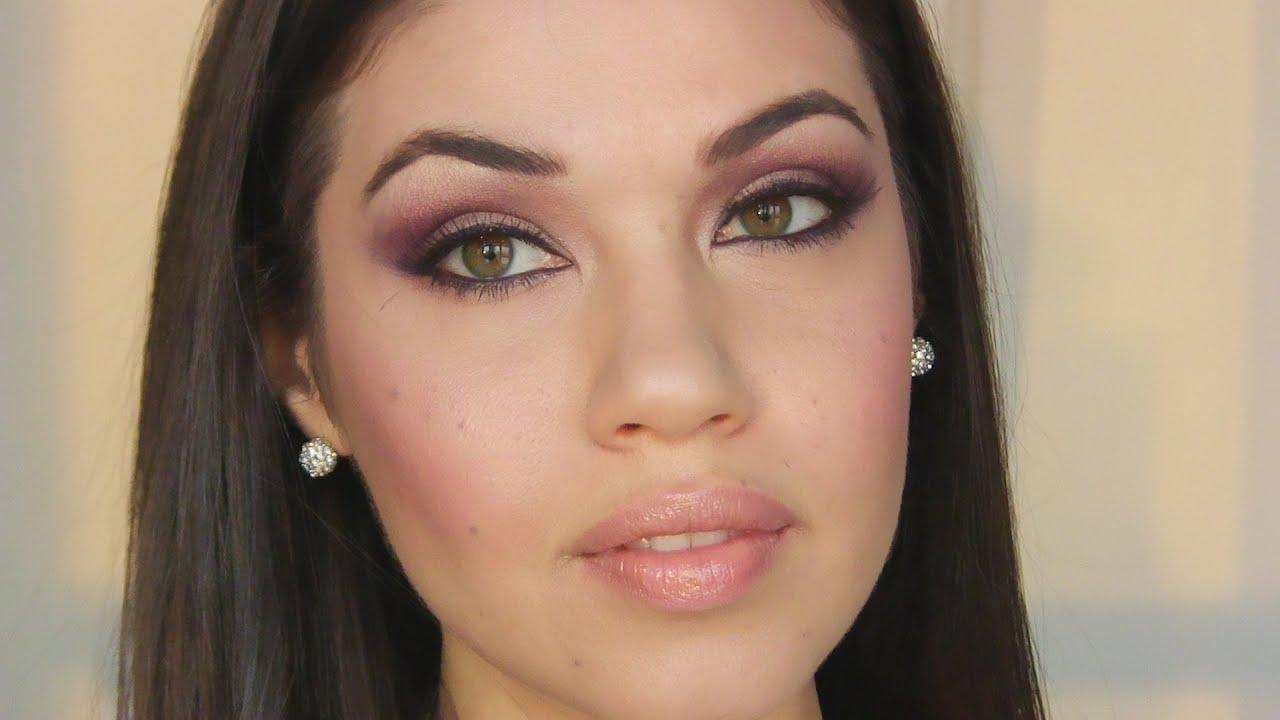 Simple Arabic Eyes Makeup Tutorial - YouTube