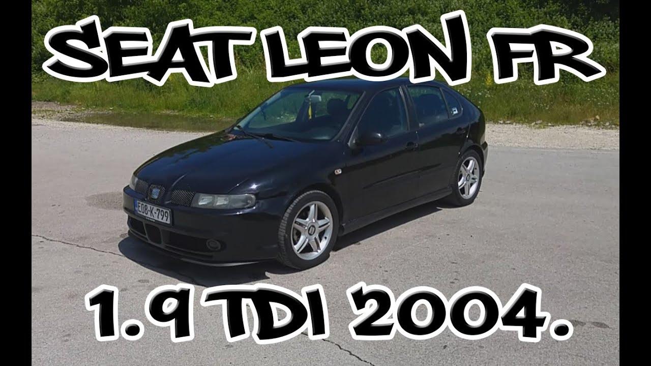 Seat Leon FR 1.9 TDI 2004. - TEST POLOVNIH VOZILA