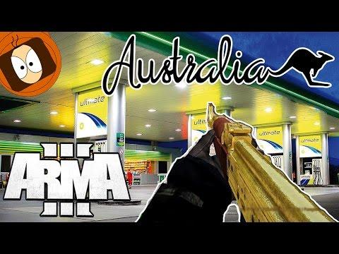 REBELLE : BRAQUAGE DE STATION & AKS EN OR !!   JAVA LIFE   ARMA 3