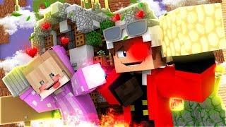 БИТВА СТРОИТЕЛЕЙ с СЫНОМ! КАК ПОСТРОИТЬ НЕБЕСНЫЙ ЗАМОК! Minecraft Build Battle