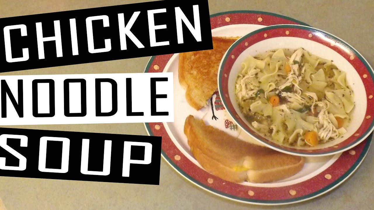 easy crock pot chicken noodle soup  youtube