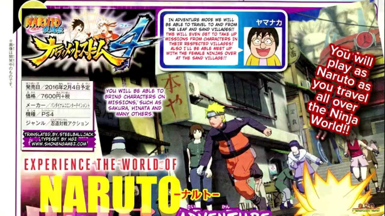 Naruto shippuden ultimate ninja storm 4 adventure mode online naruto shippuden ultimate ninja storm 4 adventure mode online details scan hd translated voltagebd Image collections