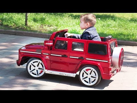 Ride by Red Baby Car | Fun Nursery Rhymes Songs for kids and babies | Outdoor playground