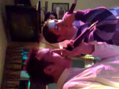 John LEGEND Singing Karaoke 1