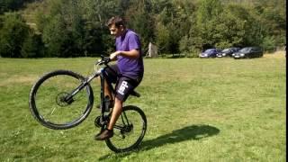 Devron bike wheelie.