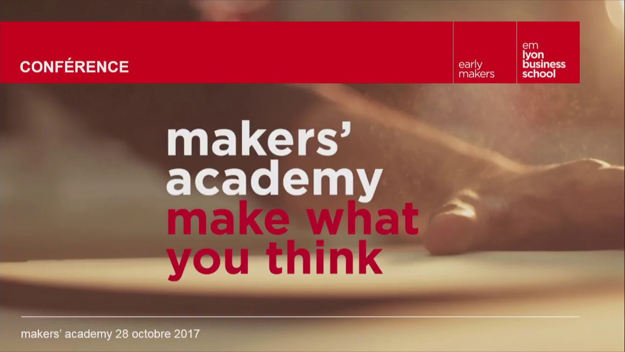 CONFERENCE - Maker's academy : innovation trajectories in a sharing society
