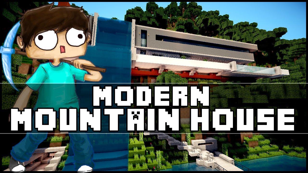 Minecraft Modern Mountain House YouTube