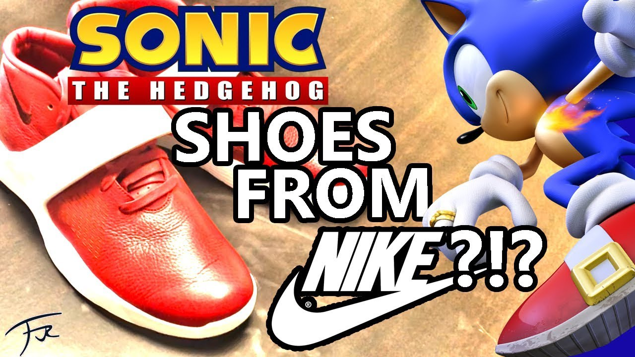 repertorio su adherirse  Nike Ultra XT: Sonic Shoes from Nike?!? - YouTube