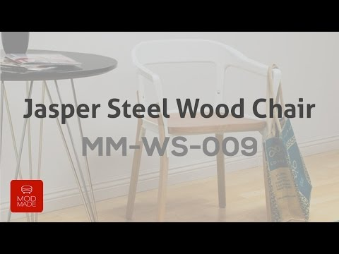 Mod Made Jasper Steel Wood Chair Product Introduction & Assembly Tutorial