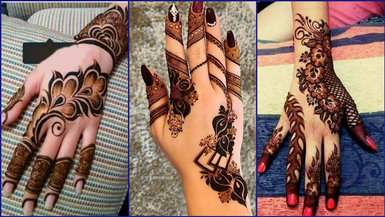 Latest Arabic Mehndi Designs 2020 New Mehndi Design Back Hand Mehndi Design Mehndi Design 2020 Youtube