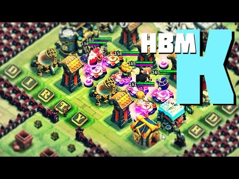 Castle Clash: Here Be Monsters Challenge K