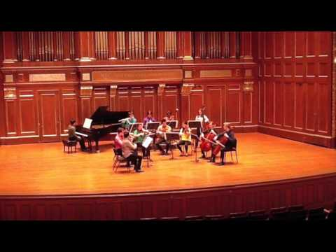 Appalachian Spring, chamber version, by Aaron Copland