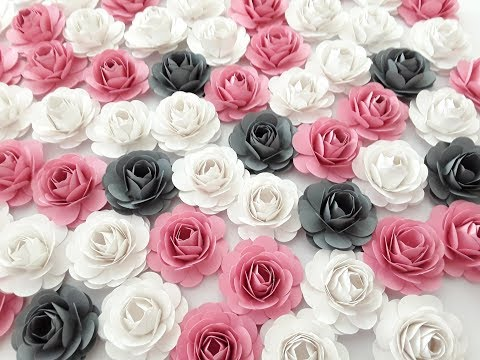 DIY Mini Rose Step by Step Tutorial