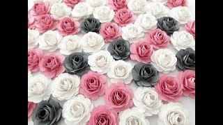 DIY Mini Rose Step by Step Tutorial