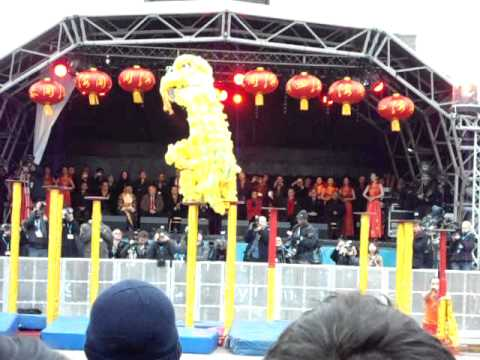 Dragon jumping, Chinese New Year 2012 - no. 2