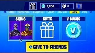How to GIFT/TRADE Free Skins in Fortnite