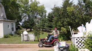 homemade mini dump truck vs lawnmower