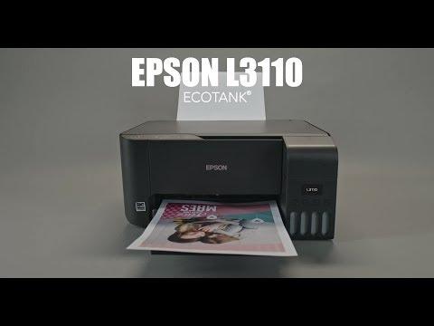 Impresora Epson L3110 - Económica Y Perfecta Para Usuarios De Hogar