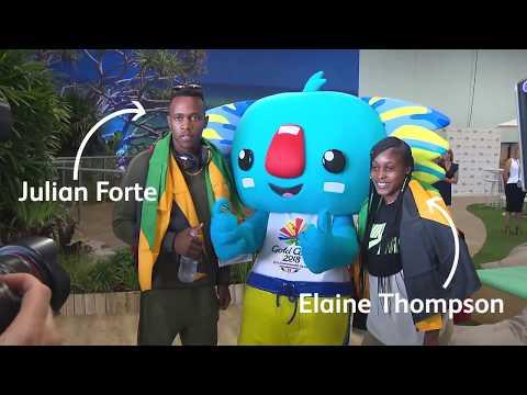 Team Jamaica is here!