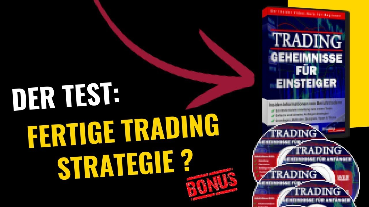Trading Strategie FГјr Einsteiger