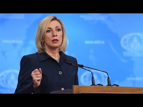 Russian FM spokesperson holds weekly briefing in Moscow
