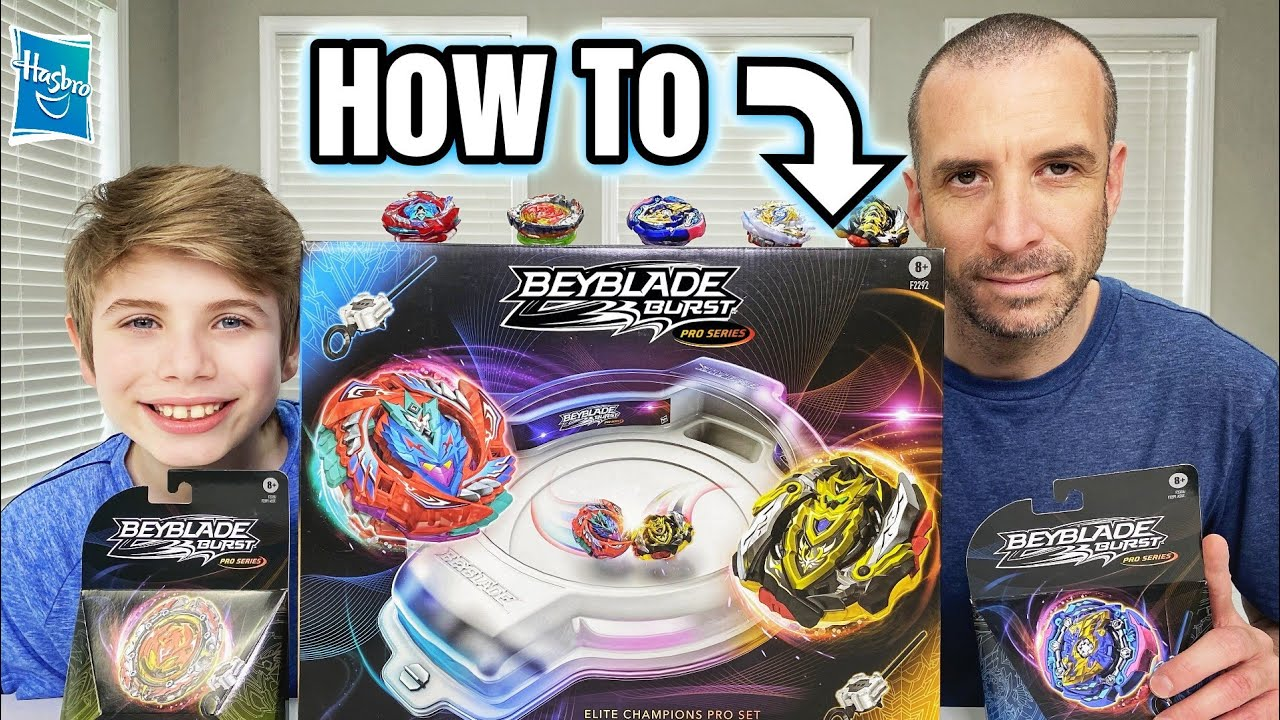 HOW TO PLAY with BEYBLADE TOYS -  Beyblade Burst TIPS & TRICKS for Beginners - Hasbro Pro Series