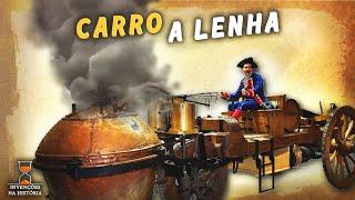 A invenção do carro e a história dos carros a vapor [a lenha mesmo]