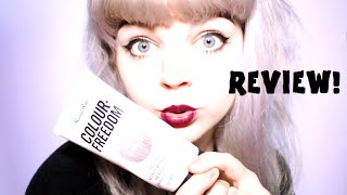 COLOUR FREEDOM SILVER BLONDE REVIEW