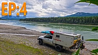 EP:4 The Arctic - Road Trip on the Alaska Highway - Truck Camper Living