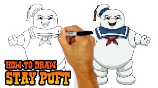How to Draw Stay Puft | Ghostbusters