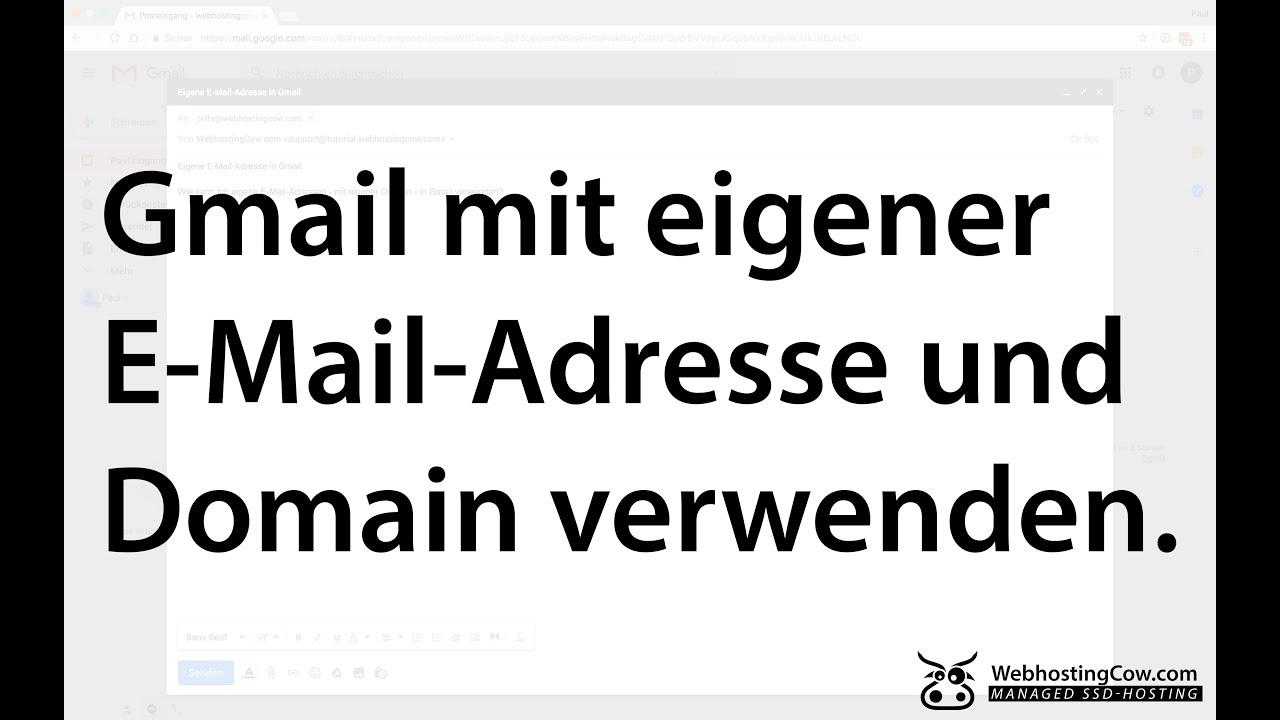 Gmail Mit Eigener Domain