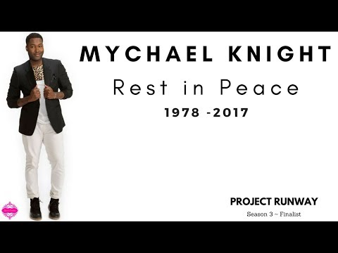 Project Runway designer Mychael Knight passes away at 39