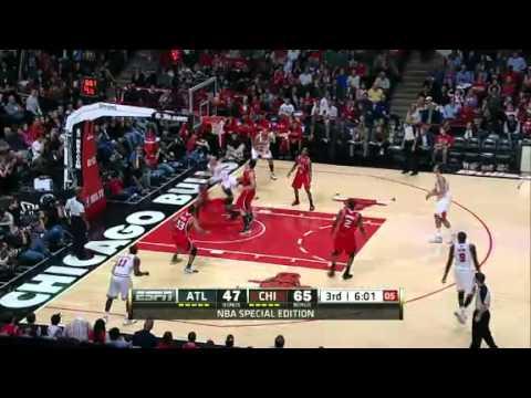 Chicago Bulls vs. Atlanta Hawks Full Game Highlights - Derrick Rose Returns | February 20, 2012