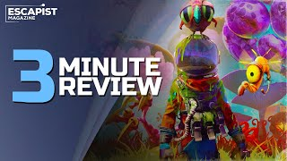 Journey to the Savage Planet | Review in 3 Minutes (Video Game Video Review)