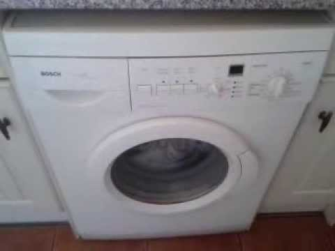 bosch maxx express washing machine overview and programs youtube. Black Bedroom Furniture Sets. Home Design Ideas