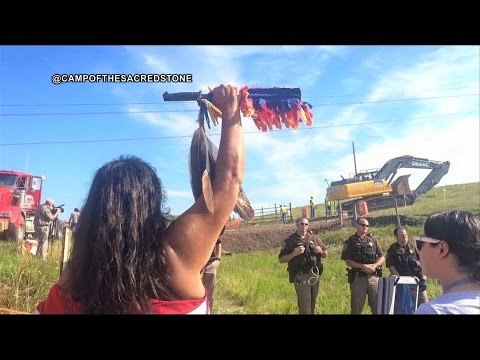 Stopping the Snake: Indigenous Protesters Shut Down Construction of Dakota Access Pipeline