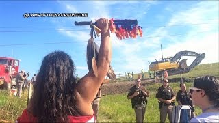 Indigenous Protesters Shut Down Construction of Dakota Access Pipeline