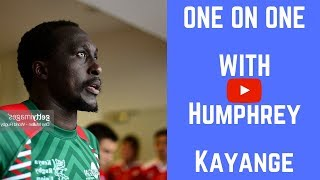 HUMPHREY KAYANGE ★ ONE ON ONE WITH THE LEGEND ★ #IsayaQuickFire ★ 2018
