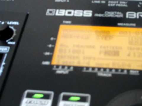 BOSS BR-800 General Recording Steps - Pt 2