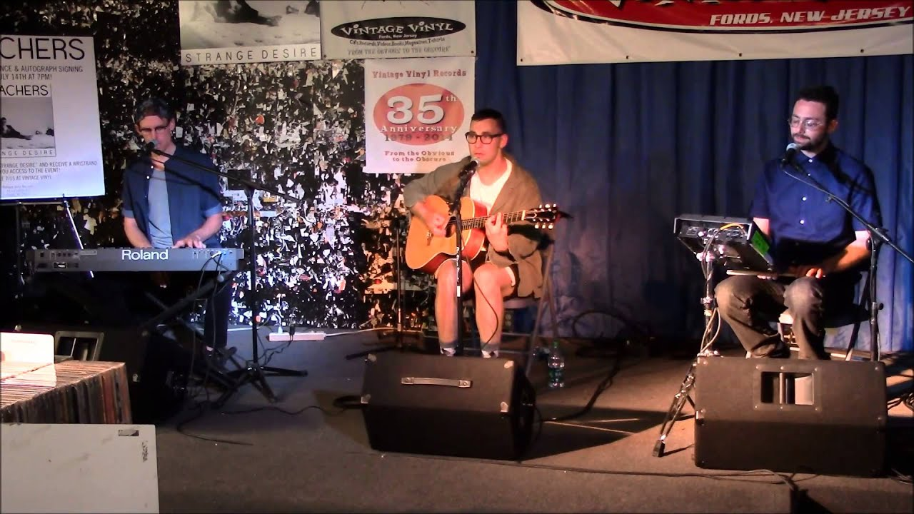Bleachers Live Acoustic Performance W Q Amp A 07 14 14 Youtube