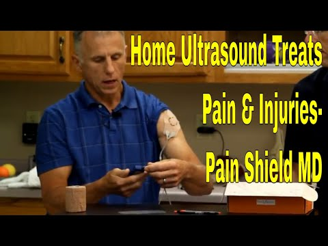 Home Ultrasound Treats Pain & Injuries- Pain Shield MD
