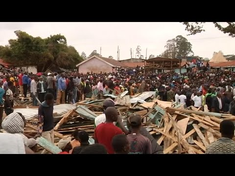 Kenya School Collapse : Seven Killed And Dozens Injured In Nairobi