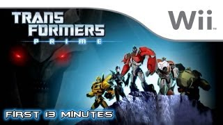 Transformers Prime: The Game - First 13 Minutes [Wii]