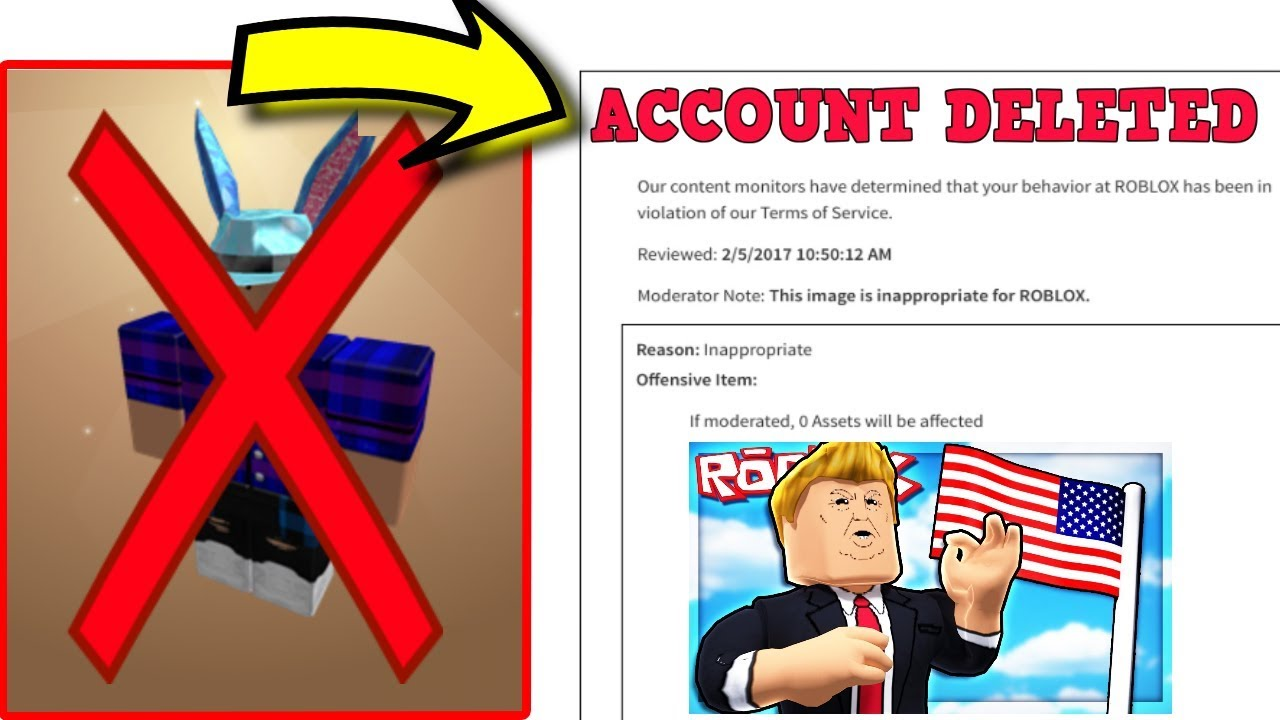 His Roblox ACCOUNT was DELETED for NOTHING! *RAGE*