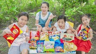 Trả Lại Tiền Thừa Cho Cô Bán Hàng Rong ❤ Dạy Trẻ Tính Trung Thực - Trang Vlog