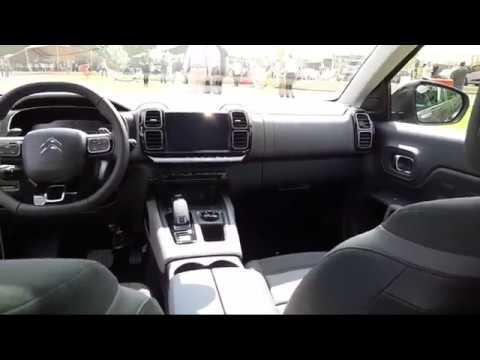 Citroën C5 Aircross : présentation de l\'intérieur - YouTube