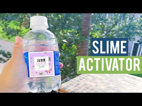 How to make slime activator? (Borax Solution)