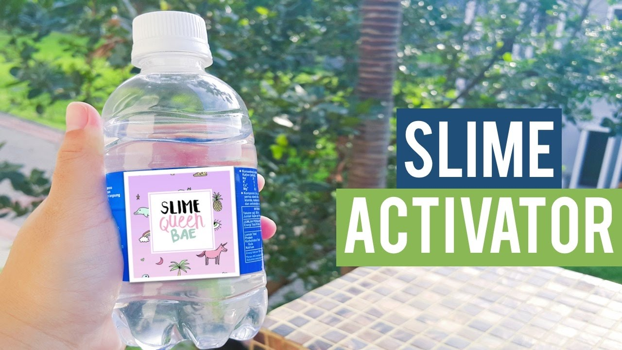 How to make glitter slime without using borax or activator or cornstarch