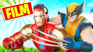 IRON MAN vs WOLVERINE - GUIZMOW [ FILM FORTNITE ]